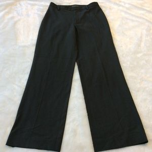 Banana Republic Gray Dress Pants 4 Wide Leg Boot